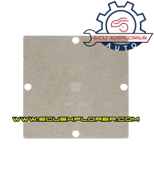 Template steel mesh for A
